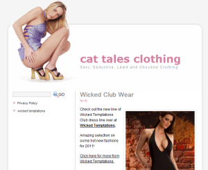 customer site - cattalesclothing.com