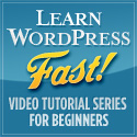 Wordpress 101 video tutoring